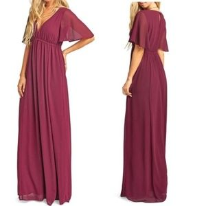 NEW Show Me Your Mumu Emily Maxi Dress Large